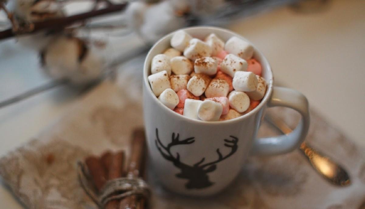 Кофе с домашним маршмеллоу