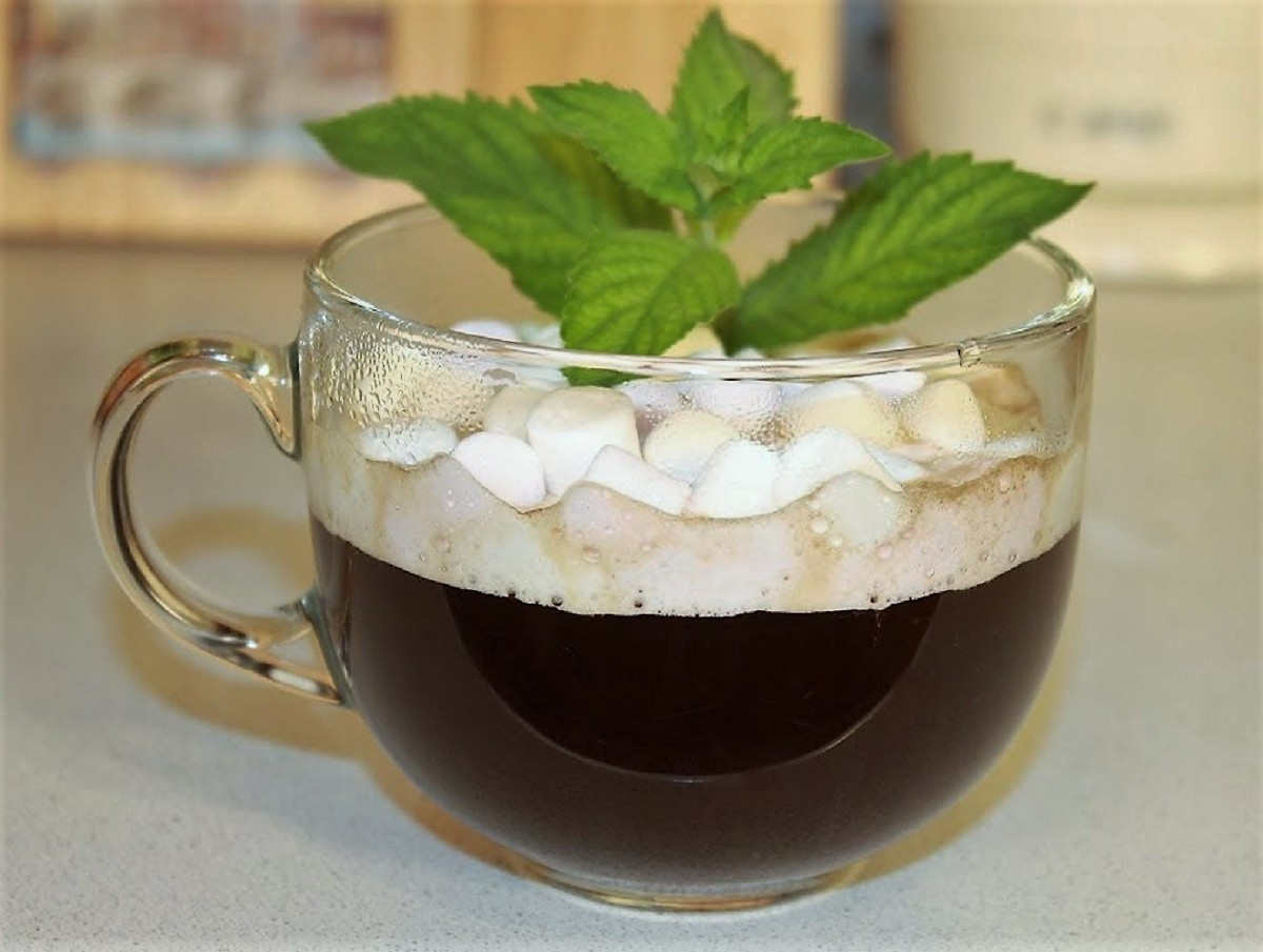 Классический кофе с маршмеллоу