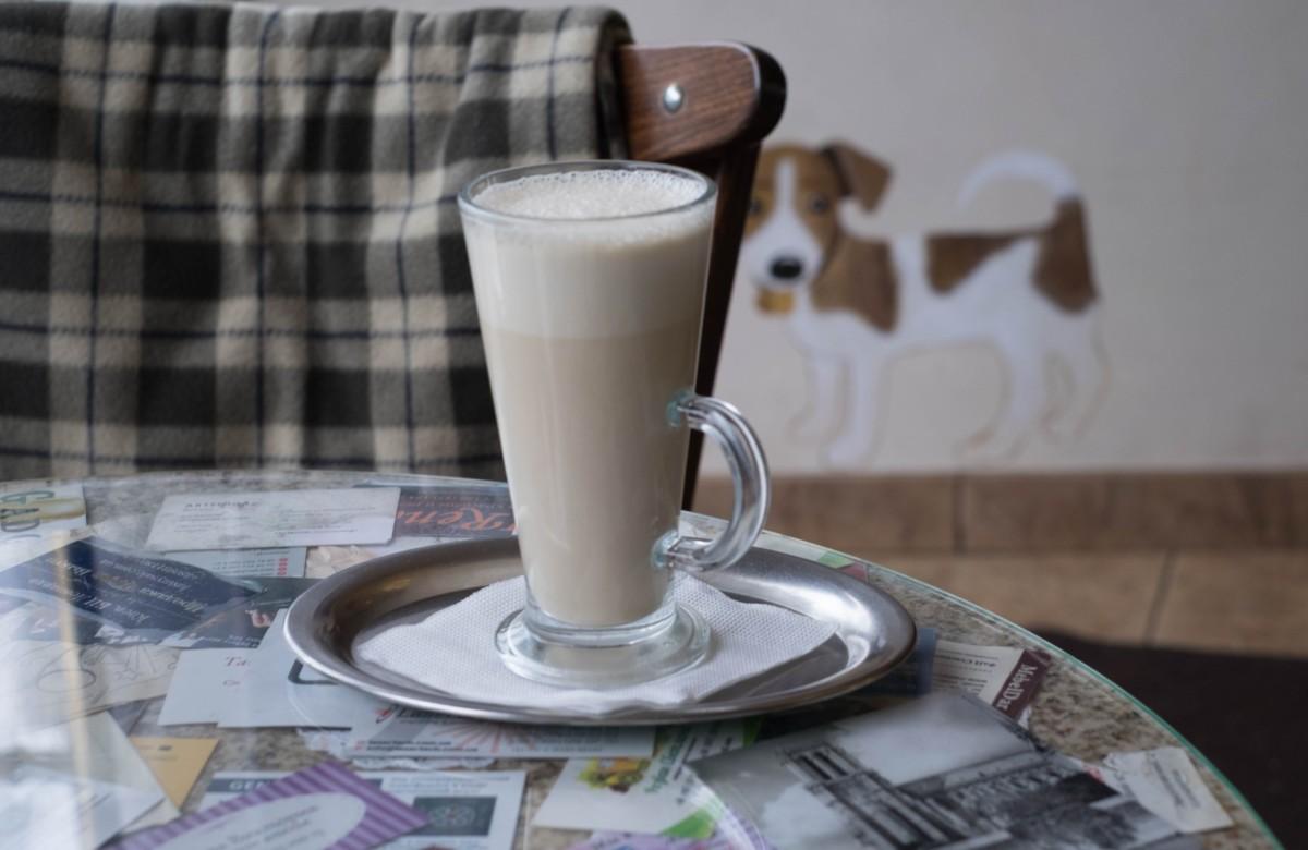 Приготовление Раф кофе
