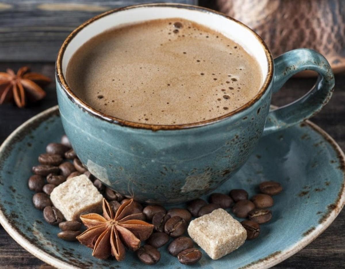 Раф кофе по-домашнему
