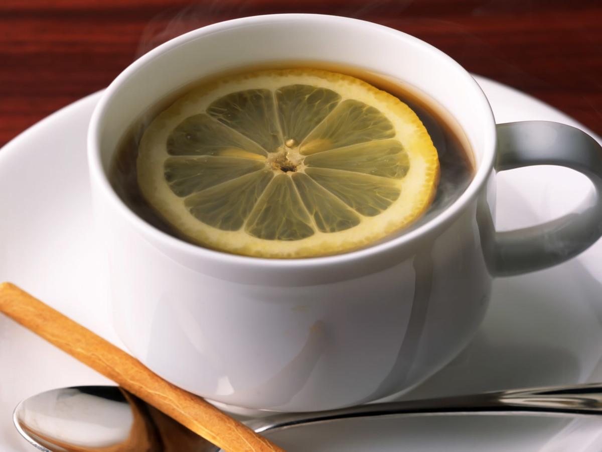 Кофе с мёдом и лимоном