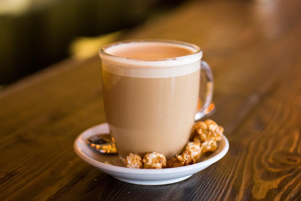 Кофе с мёдом и молоком
