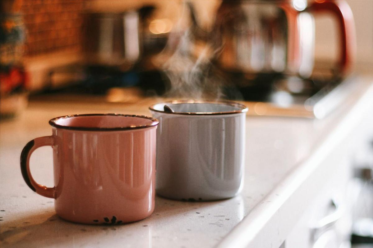 Кофе с солью подогрев