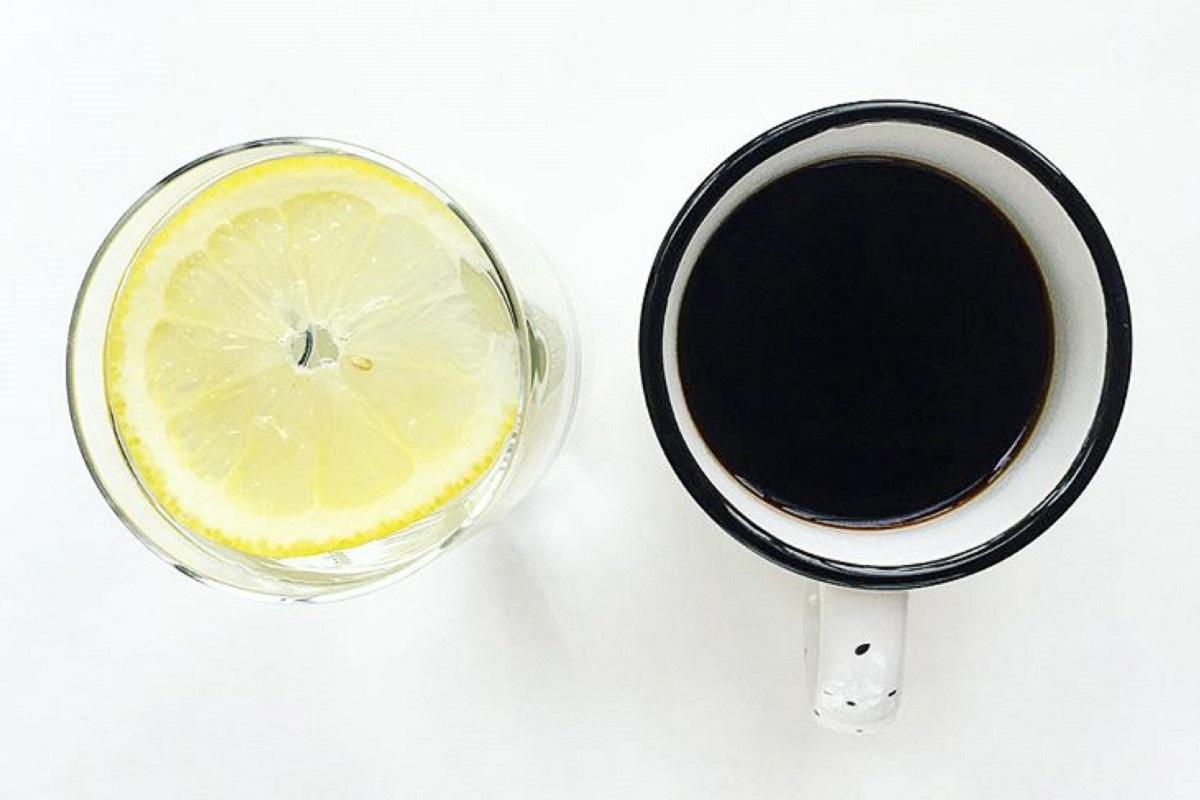 Как появилось кофе с лимоном
