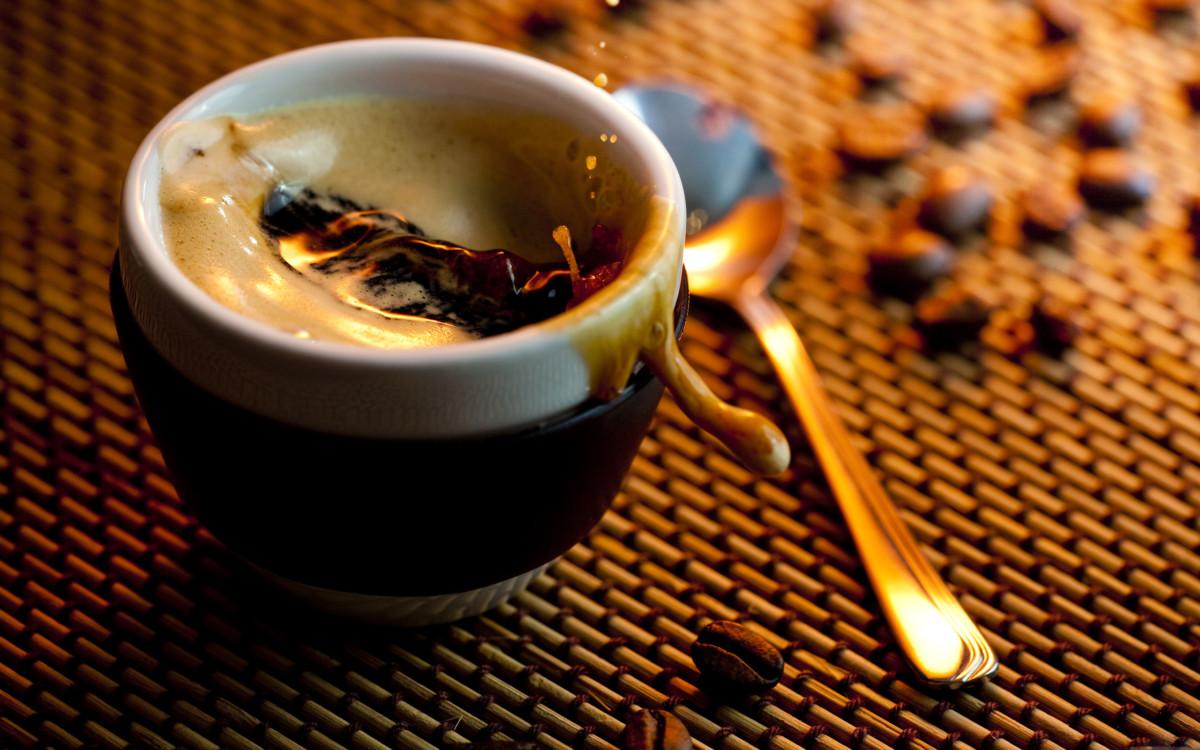 Напиток кофе с медом