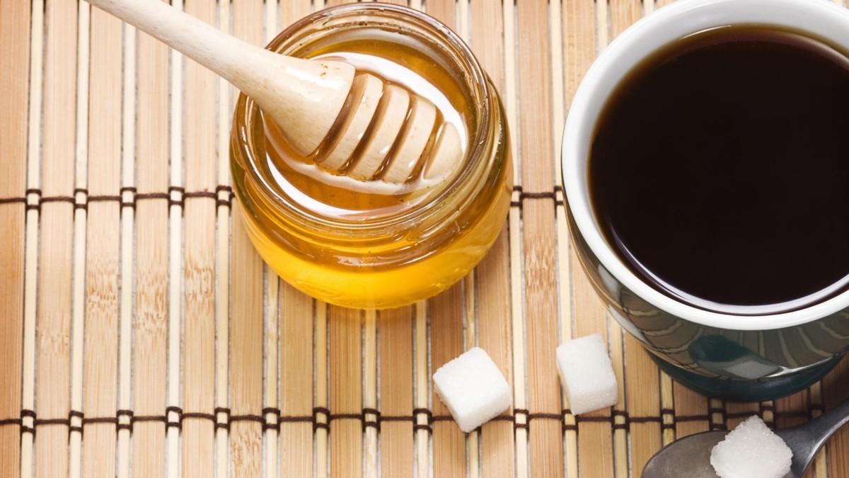 Оригинальный дуэт кофе+мёд