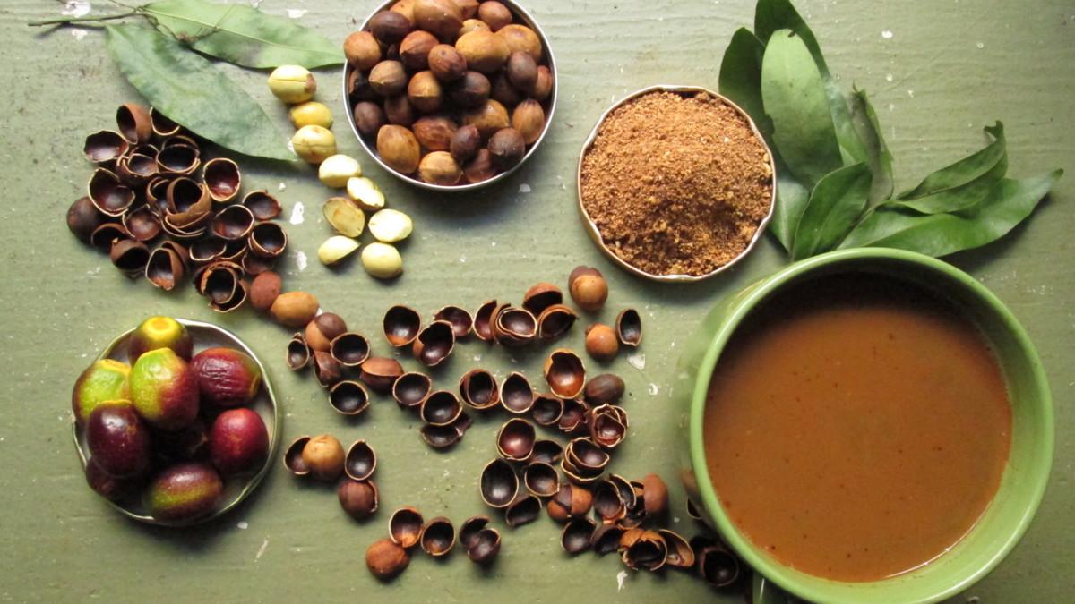 Хранение кофе из желудей
