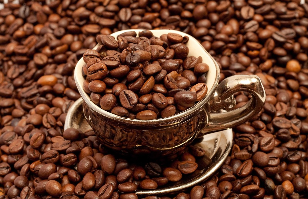 Крепкий кофе