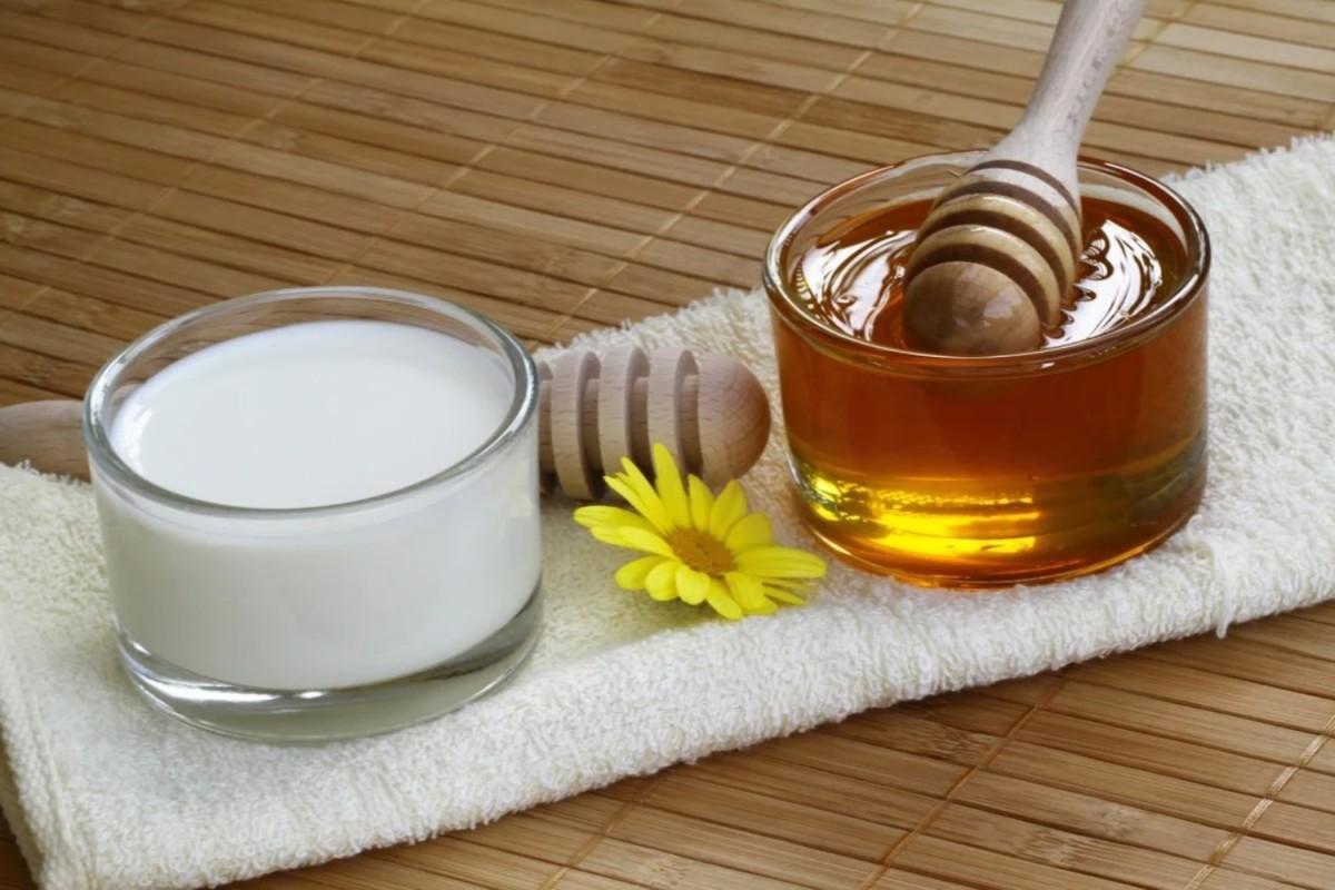 Молоко с медом и кофейной гущей