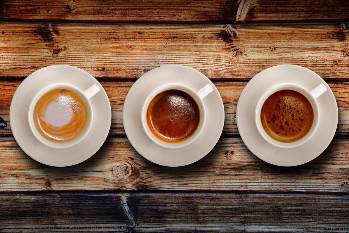 3 чашки кофе