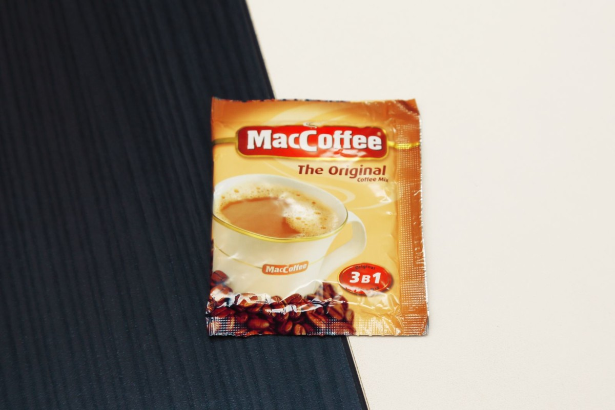Пакетик кофе 3 в 1