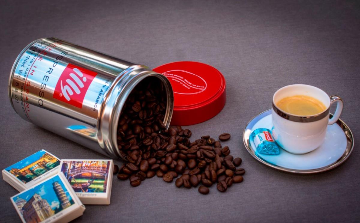 Кофе Illy в зернах