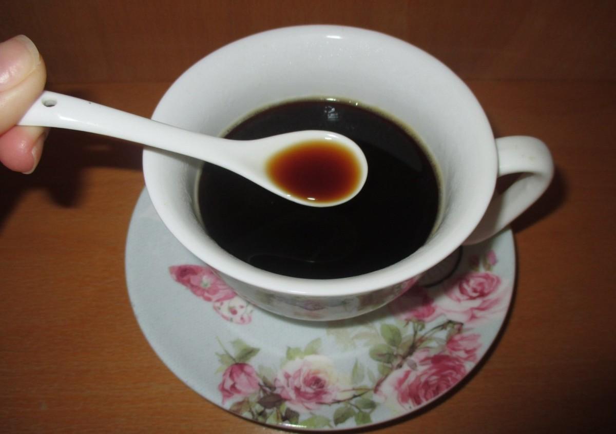Чашка и кофейная ложечка