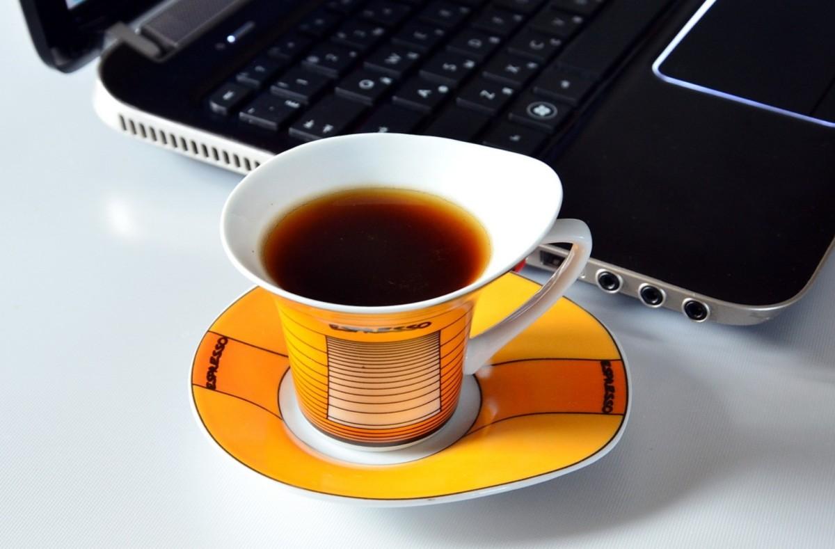 Чашка кофе по утрам