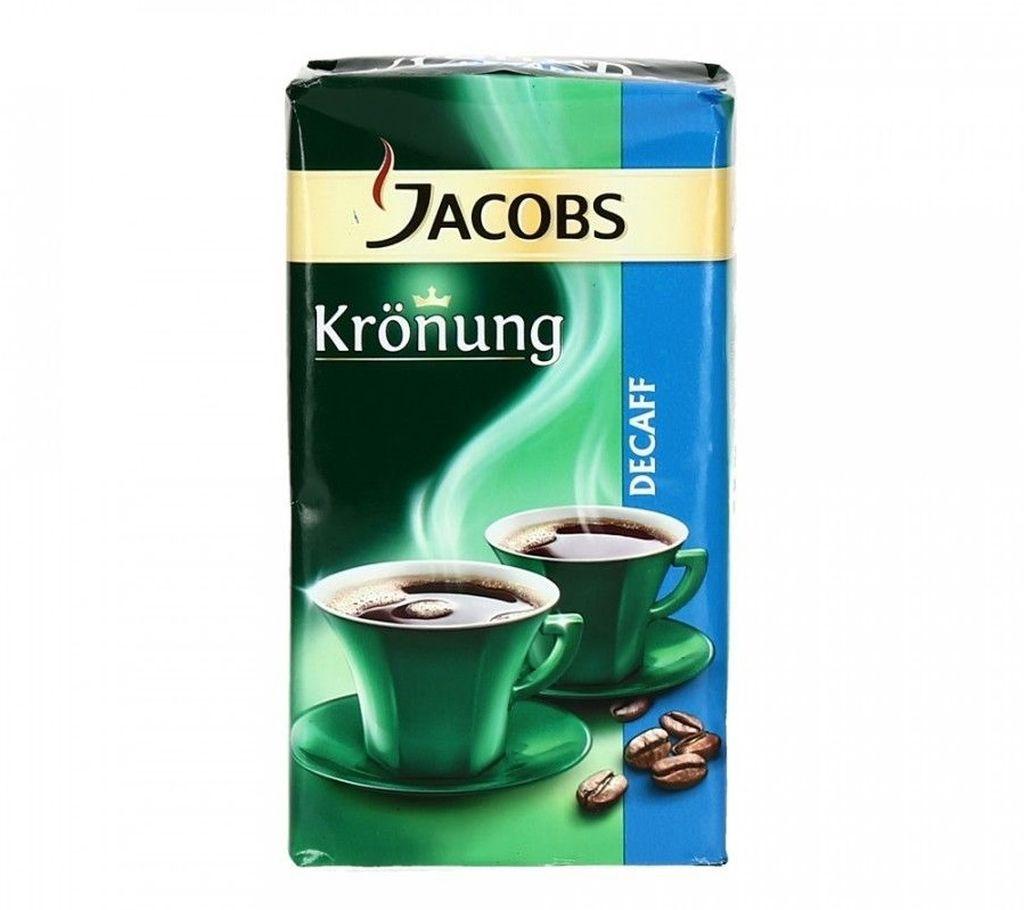 Разновидности без кофеина имеют надпись Decaf на упаковке