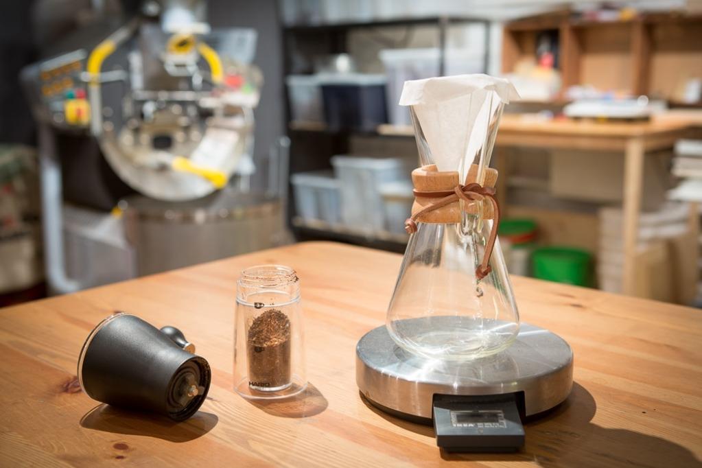 Приготовление кофе в кеммексе
