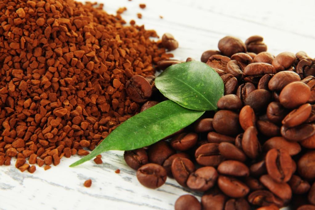 Как производят растворимый кофе