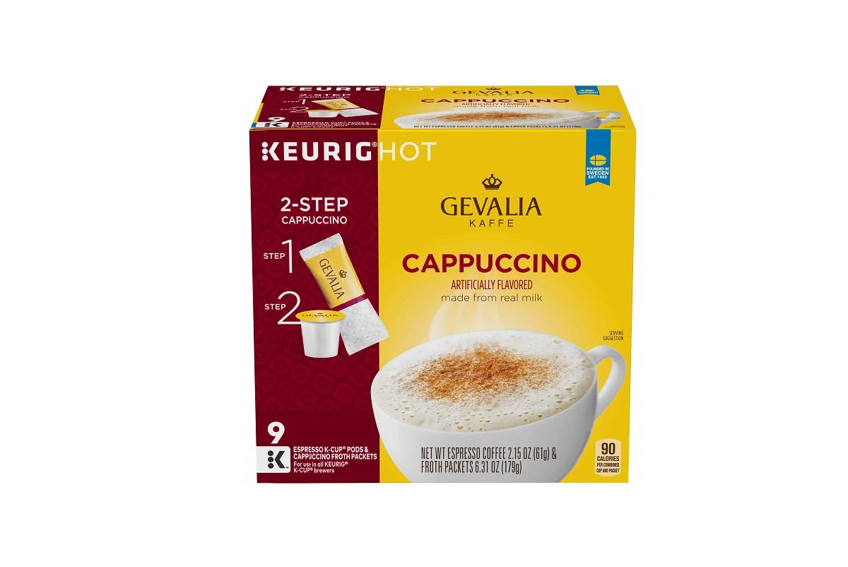 Cappuccino Original - используется для заваривания вкусного капучино с пенкой