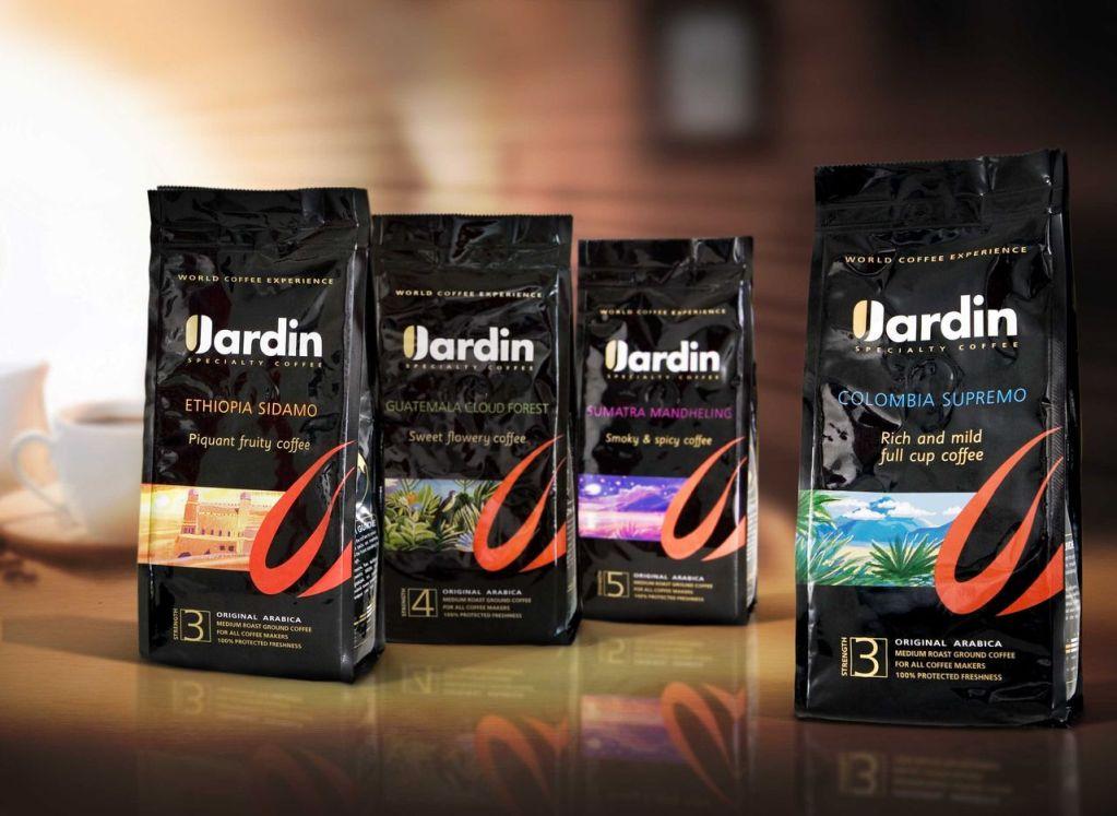 Кофе марки Жардин