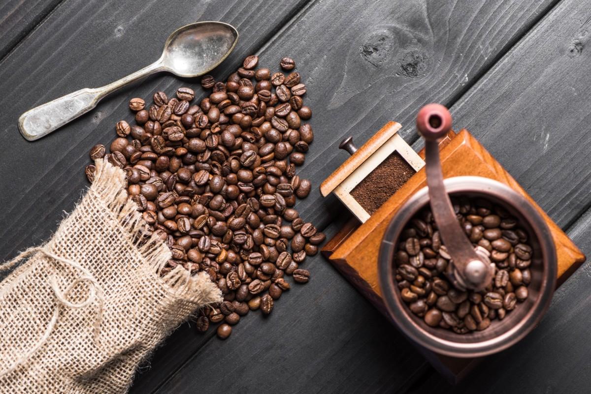 Кофе молотый на электроплите
