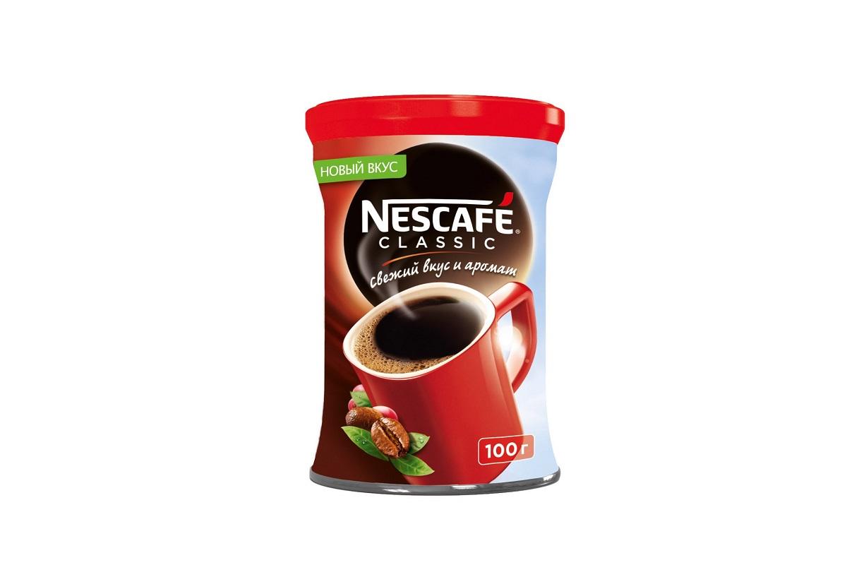 Классик - базовый вкус в линейке торговой марки Нескафе