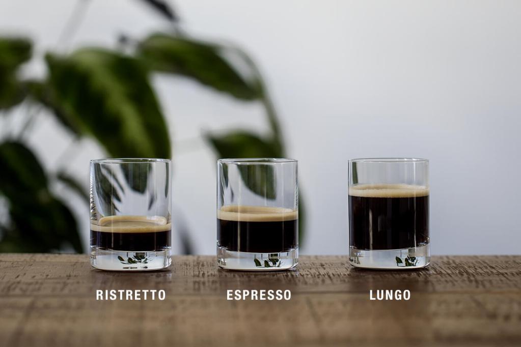 Отличия в объеме от эспрессо и лунго