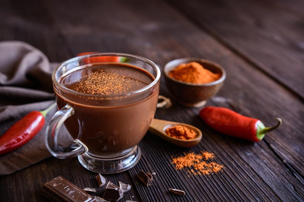 Имбирно-перечный кофе с шоколадом очень приятен на вкус