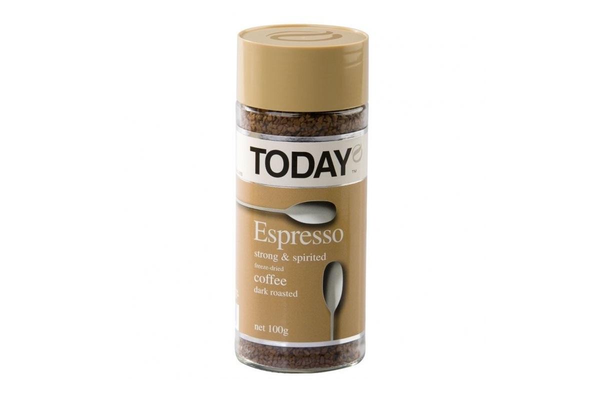 Today Espresso - идеальный напиток для придания бодрости по утрам