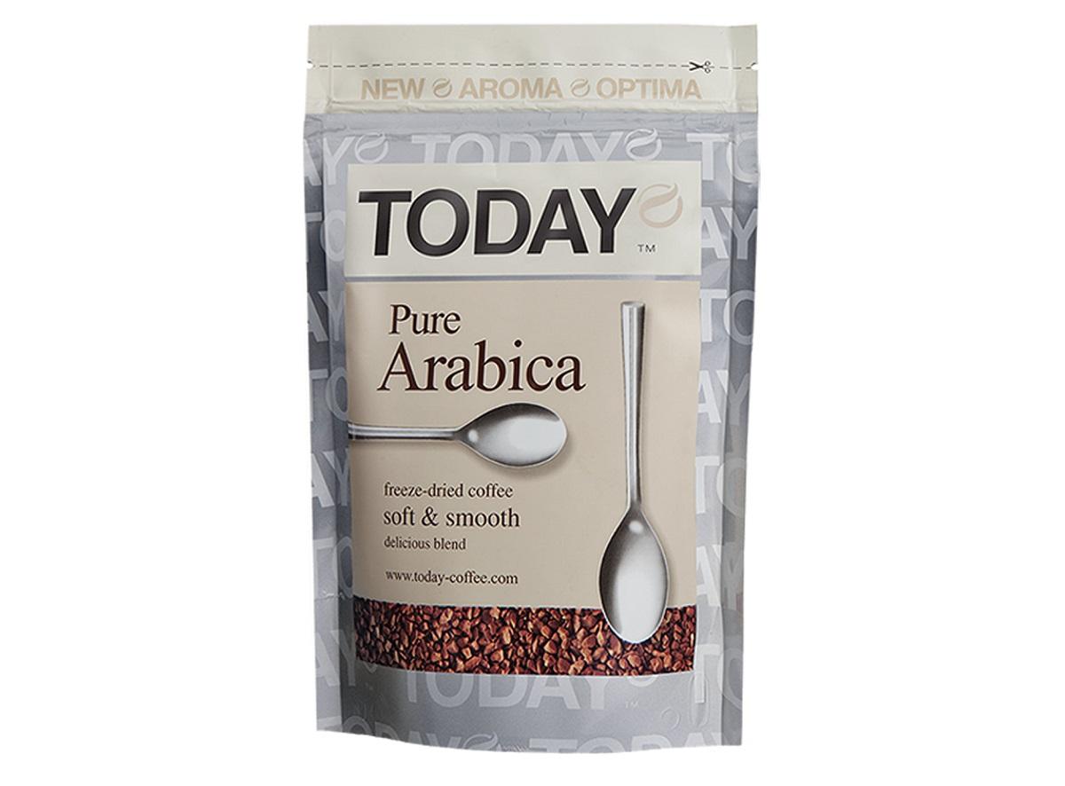 Этот кофе продается в традиционных стеклянных банках и экономных упаковках из фольги
