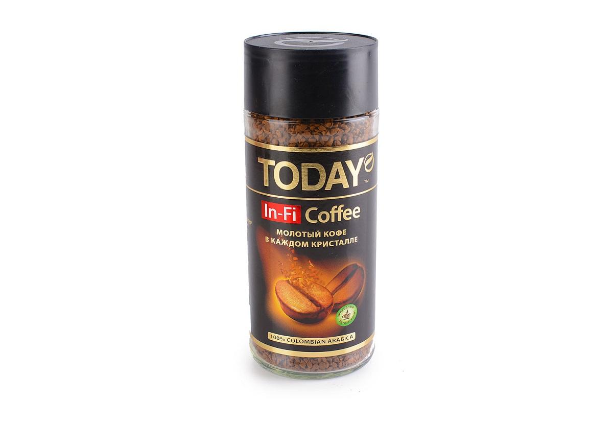 In-Fi - это уникальная смесь растворимого и молотого кофе