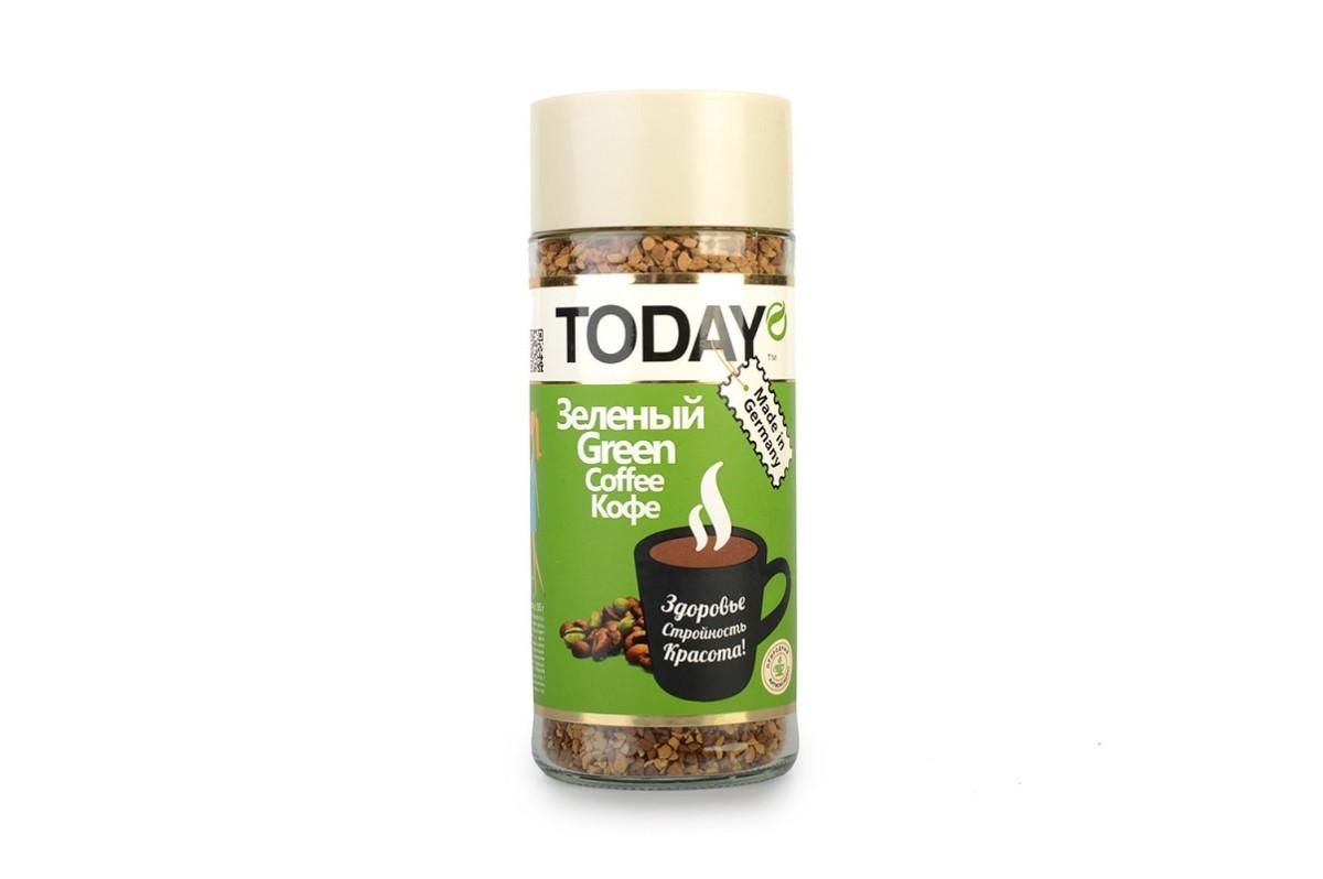 Этот кофе изготавливается из зеленых зерен