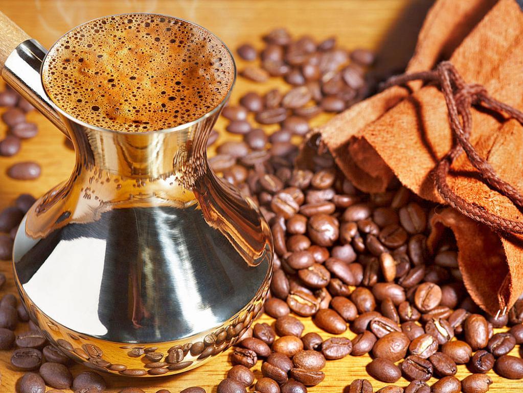 Как варить кофе в турке на газовой плите