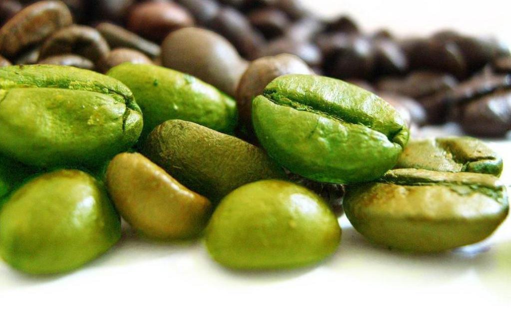 Зеленый кофе сохраняет в себе большое количество полезных веществ