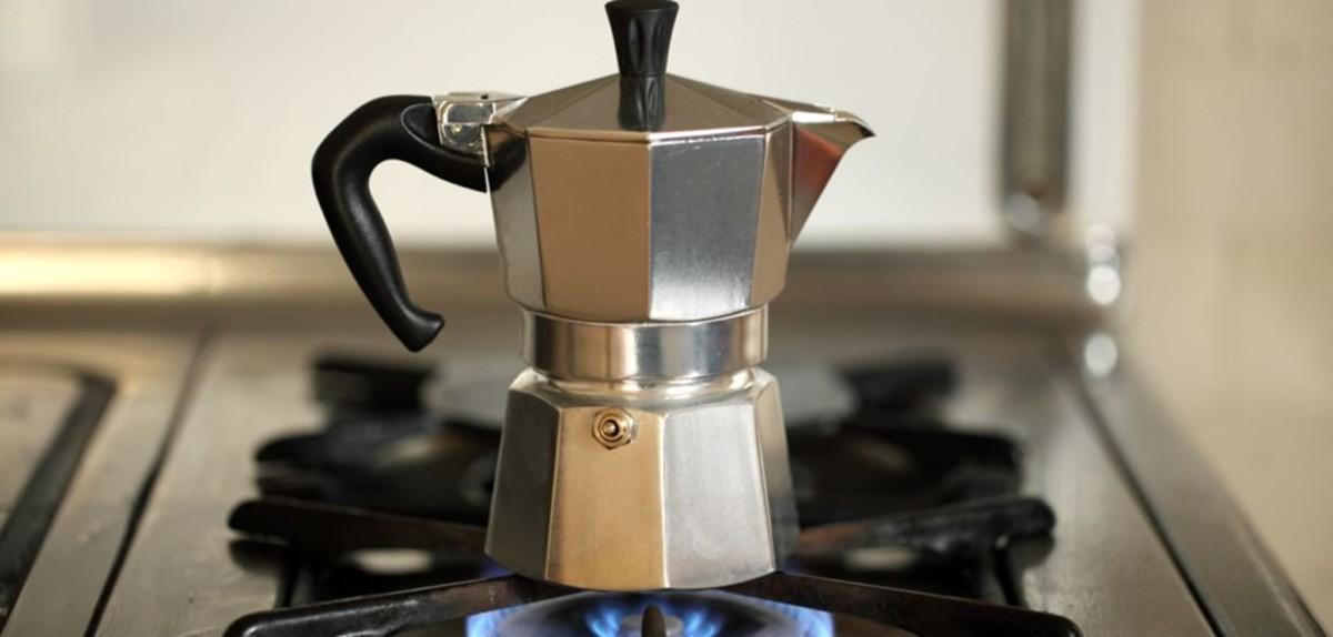 Гейзерная кофеварка для плиты