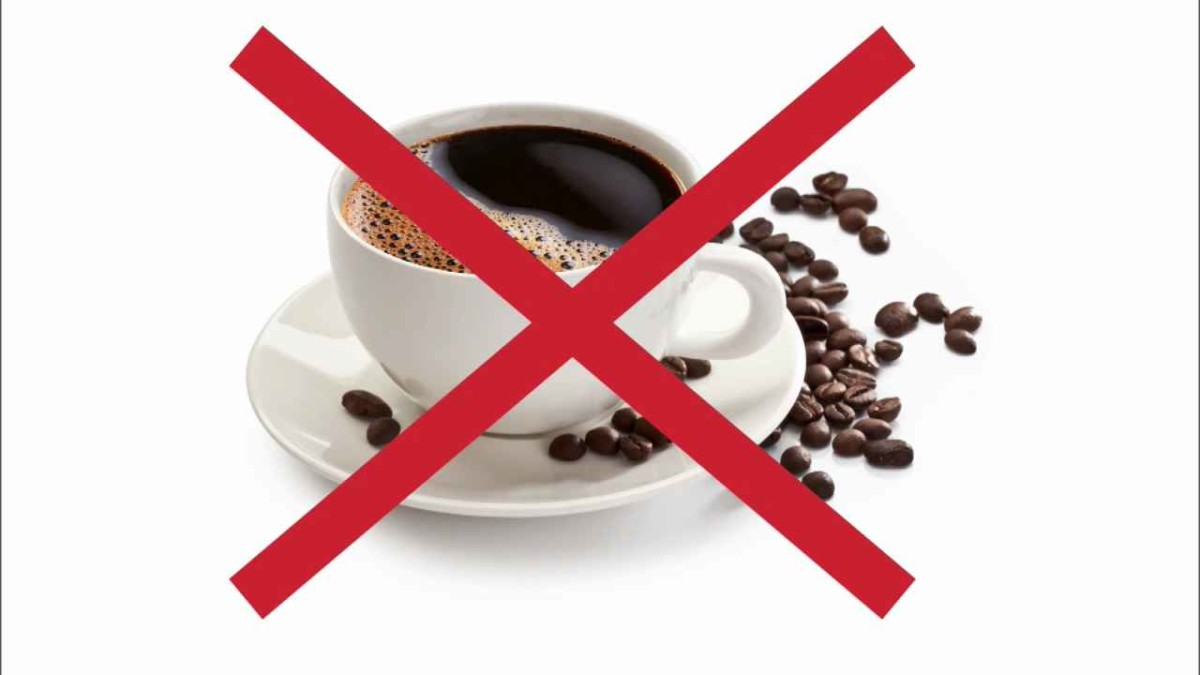 Противопоказан кофе при отравлении