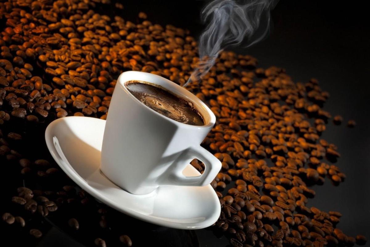 Черный кофе без сахара