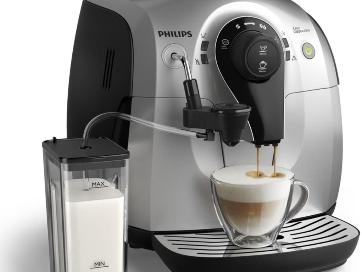 Кофеварка выгодно отличается эффектным дизайном