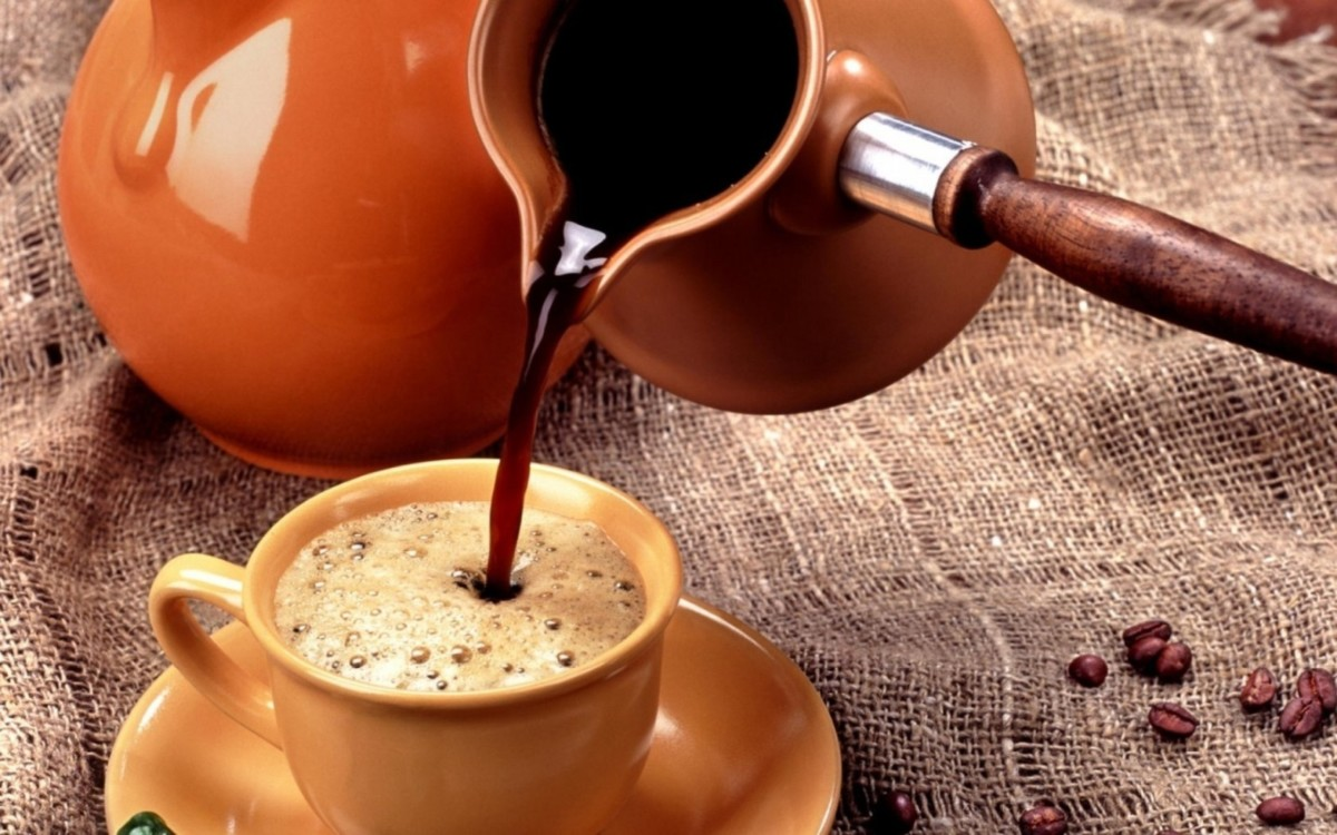 Капсульный кофе в турке