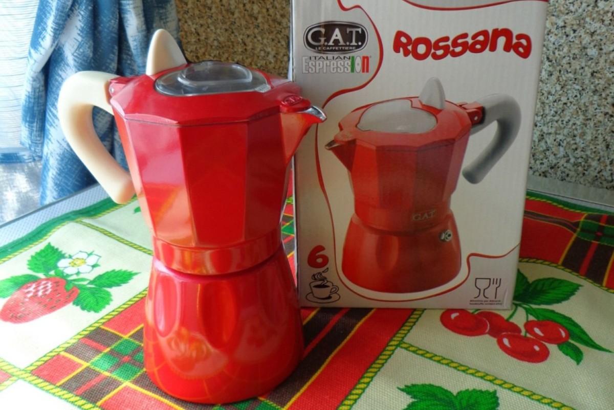 Гейзерная кофеварка GAT Rossana