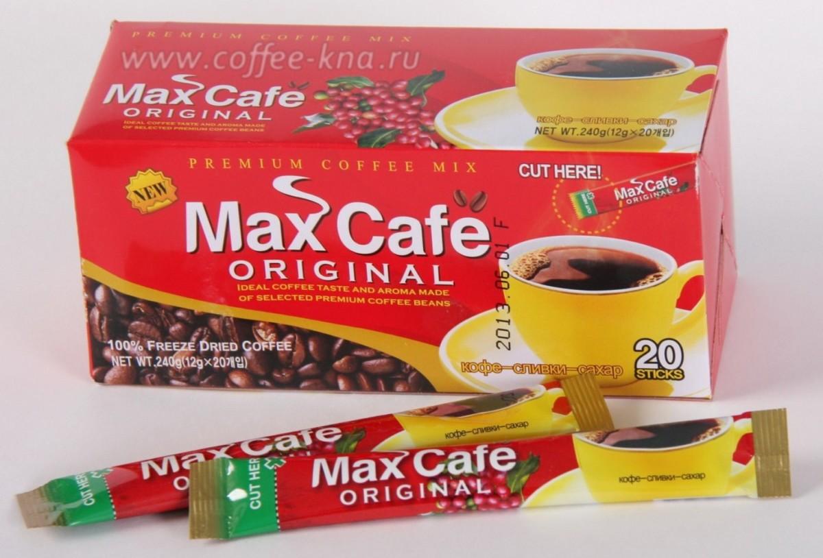 Кофе-микс 3 в 1 Max Cafe