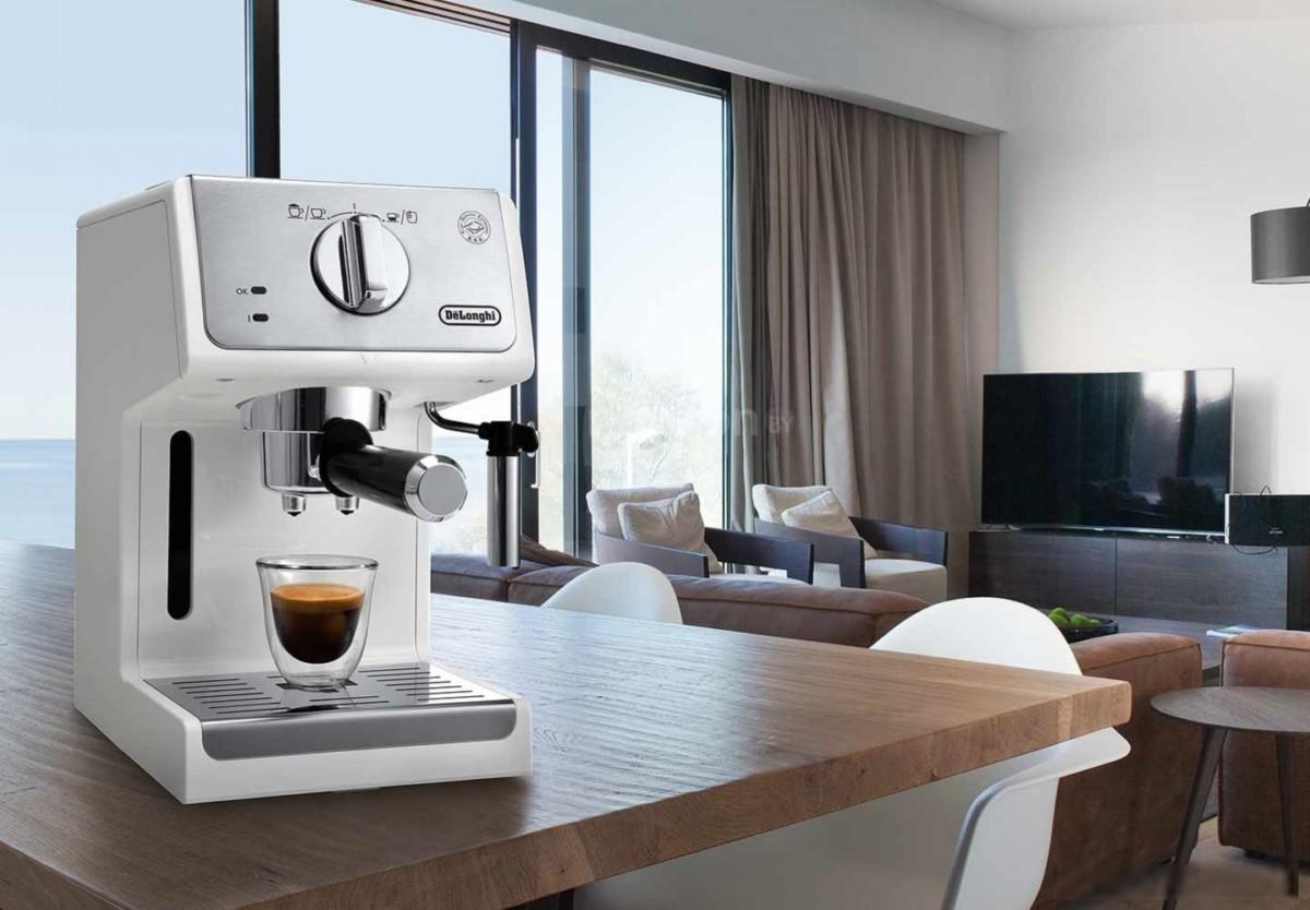 Рожковая помповая кофеварка DeLonghi Active Line ECP