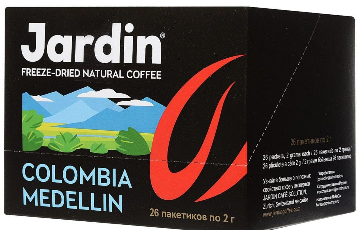 Jardin Colombia Medellin растворимый кофе в пакетиках