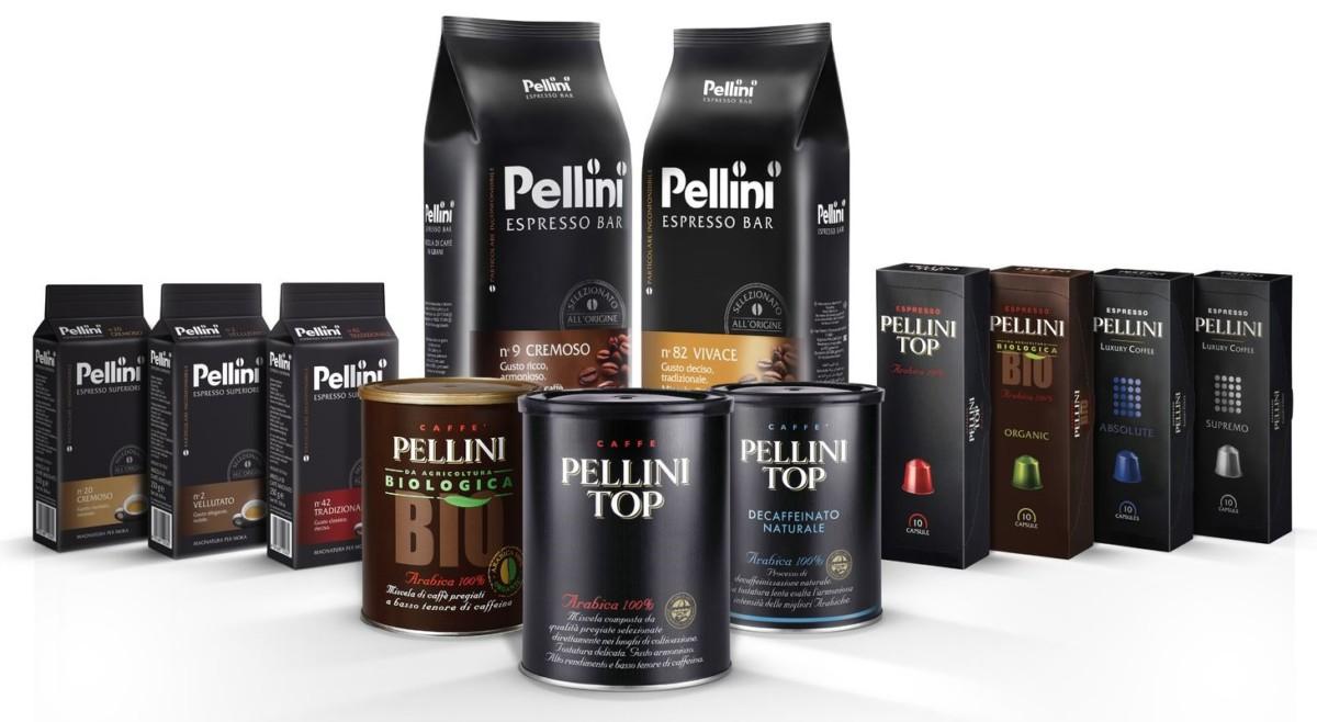 Pellini - кофе с ароматом ванили