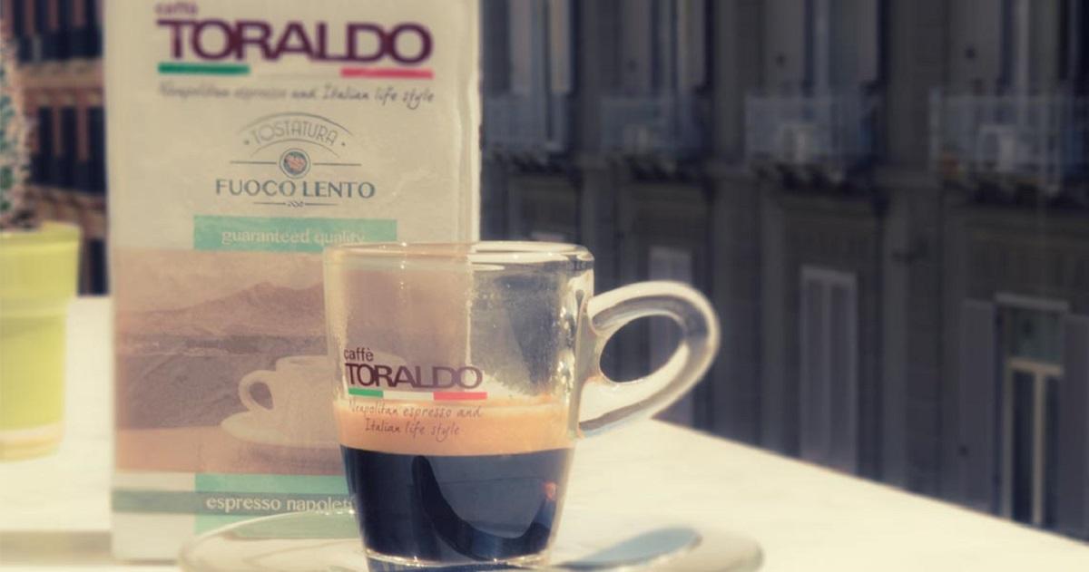 Toraldo Coffee является смесью 4 сортов кофе