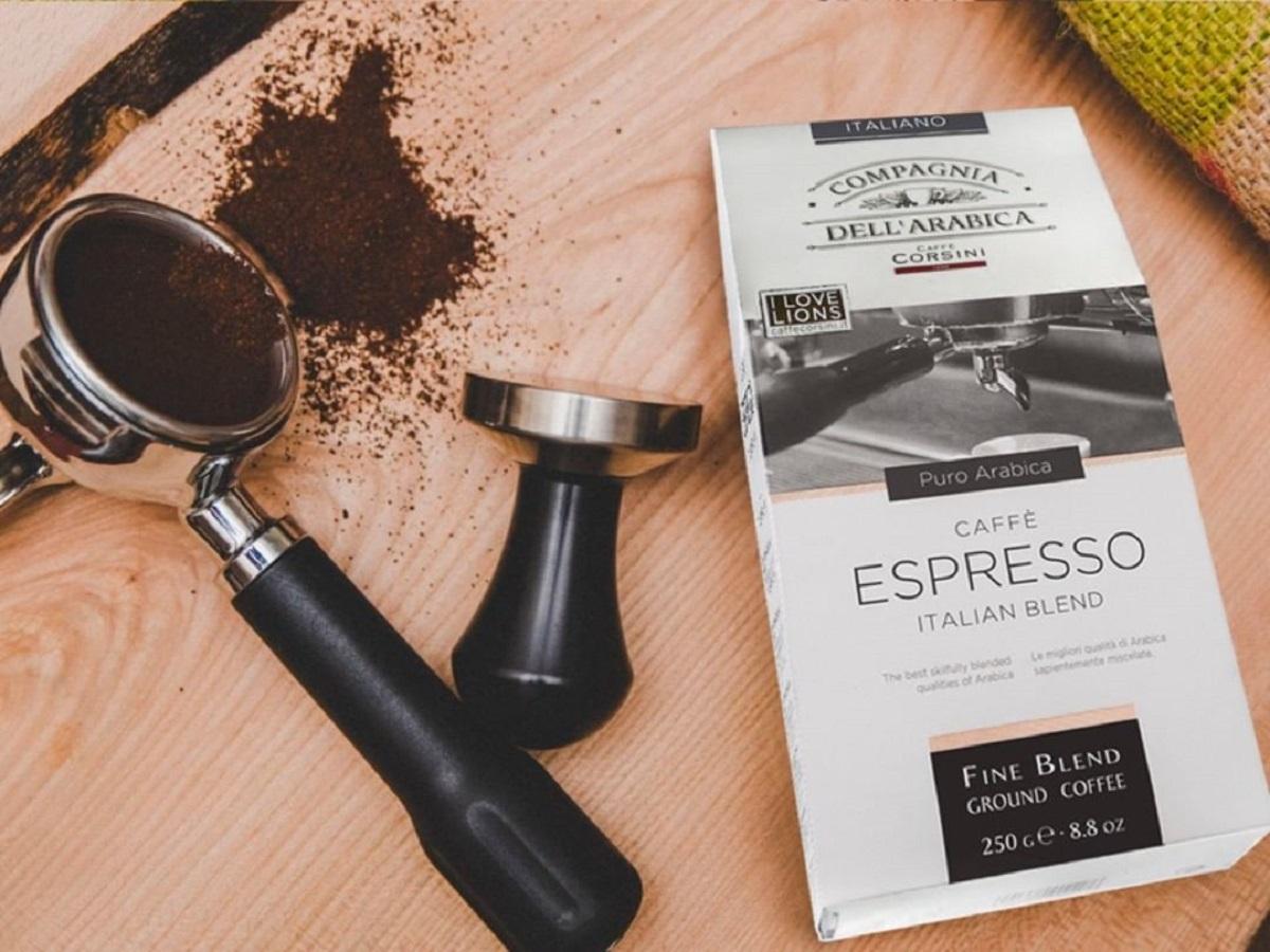 Несколько сортов кофе производители смешали вместе для получения непревзойденного аромата