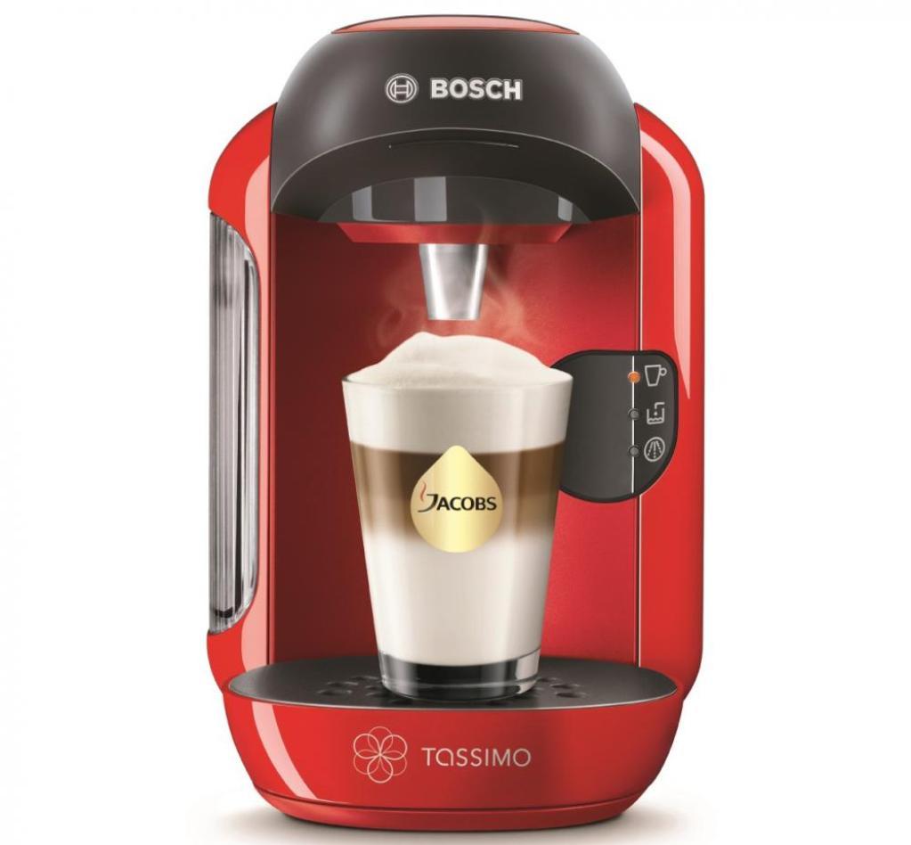 Конструкция машины Bosch подойдёт для любого размера чашки или стакана