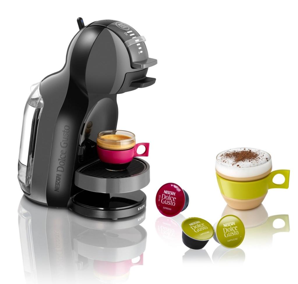 Наибольшей популярностью пользуется кофемашина Nescafe Dolce Gusto Mini me