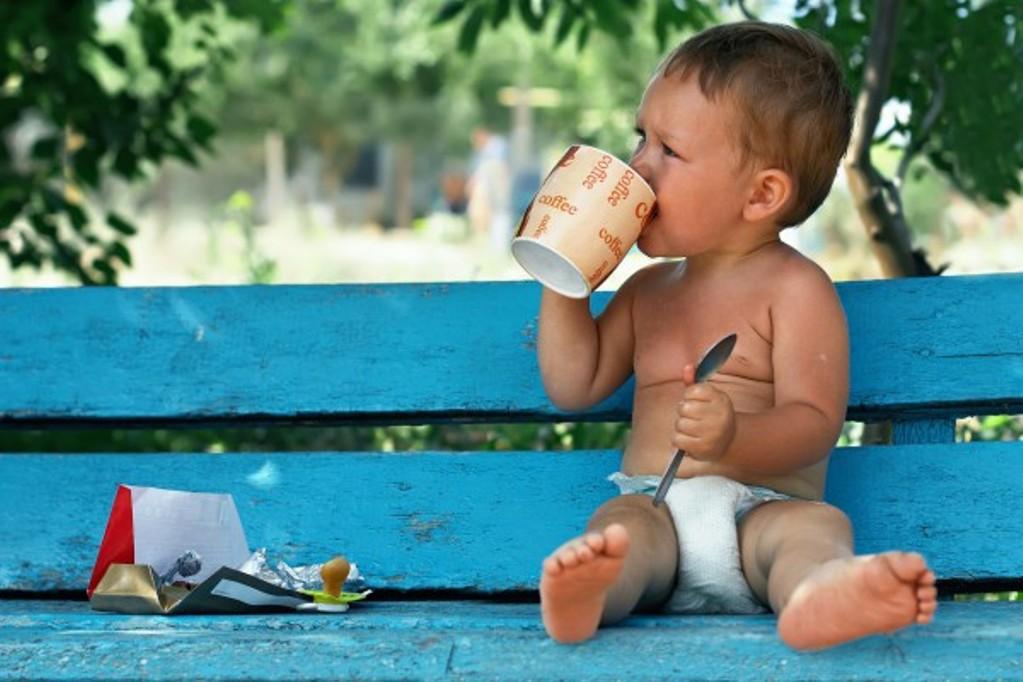 Маленьким детям лучше давать какао вместо кофе