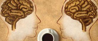 Влияние кофе на мозг человека