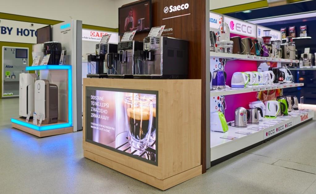 Приобрести кофемашину можно практически в любом магазине бытовой техники